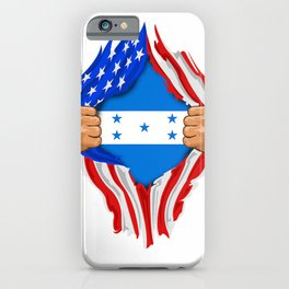 Honduran Blood Inside Me T-Shirt  Honduras Flag Gift iPhone Case