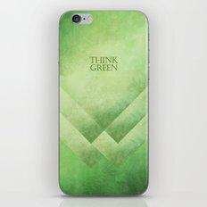 Think green iPhone & iPod Skin