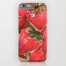 fraises. Slim Case iPhone 6s