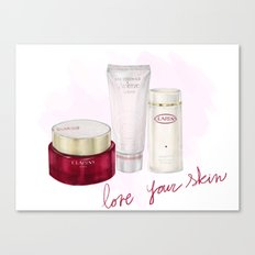 Skin Care Canvas Print