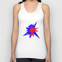 patriotic Tank Tops featuring Patriotic Sky by Christy Leigh