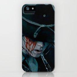 Carl Grimes Shot In The Eye - The Walking Dead iPhone Case
