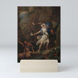Circe Punishes Glaucus by Turning Scylla into a Monster, Eglon van der Neer, 1695 Mini Art Print