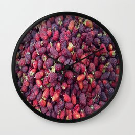 Berries in Paloquemao - Bayas en Paloquemao Wall Clock