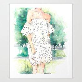 Eyelit Art Print