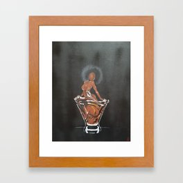 Henny Str8 No. 1 Framed Art Print
