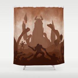 DOOM Shower Curtain