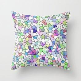 Mosaic Pattern Throw Pillow