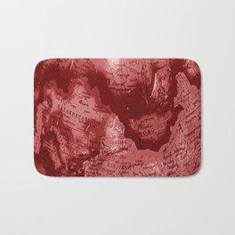 Russia in Red Bath Mat
