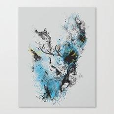 Chaos Thinking Canvas Print