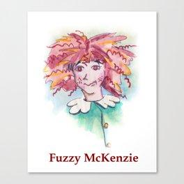 Fuzzy McKenzie Canvas Print