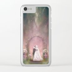 A Happy Beginning Clear iPhone Case