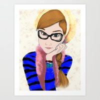 Alodia Art Print
