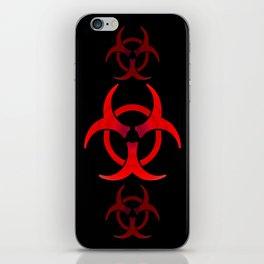Biohazard - Red iPhone Skin