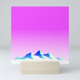 Mountain Aesthetic 1 Mini Art Print