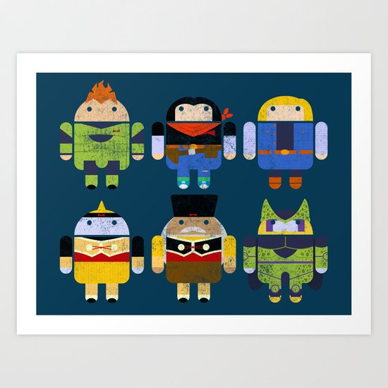 The Next Androids Art Print