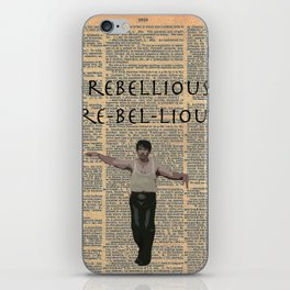 Deacon (Dictionary Page) iPhone Skin