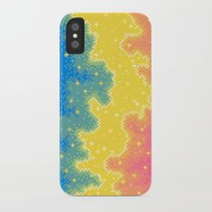 Pan Pride Flag Galaxy iPhone X Slim Case