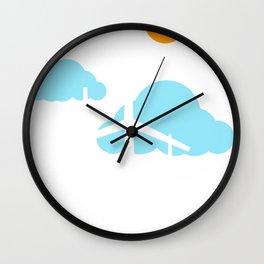 Windmills Love Earth Renewable Energy Green Environment Wall Clock