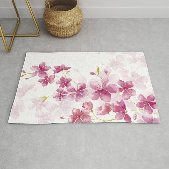 Cherry Blossom Rug By Andreas12 Society6