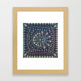 There's Nowhere It Isn't Framed Art Print