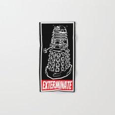 EXTERMINATE     Dalek     Dr. Who Hand & Bath Towel