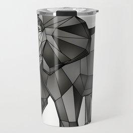 Geometric Giant #1: Elephant Travel Mug