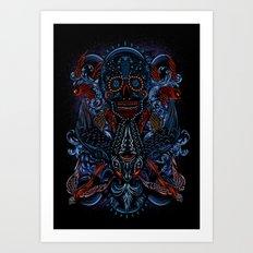 Death in Culture Art Print