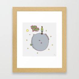Little Fresh Prince Framed Art Print