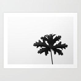 Natural silhouette  Art Print