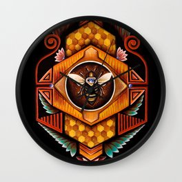 Royal Hive Wall Clock