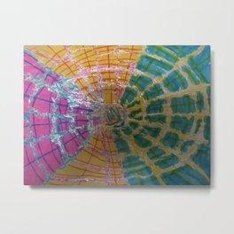 Colorful Vortex Metal Print