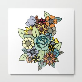 Alot Flowers Metal Print