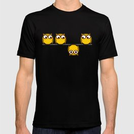 A whole new perspective for the owl T-shirt