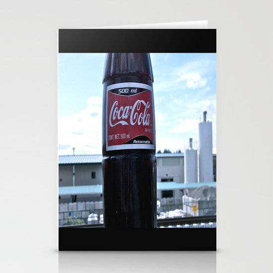 Industrial Coke Stationery Cards