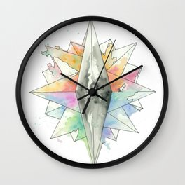 C.O.M.P.A.S.S. No. 1 Wall Clock