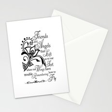 Friends  - Quote Stationery Cards
