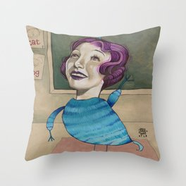 RAISE YOUR HAND Throw Pillow
