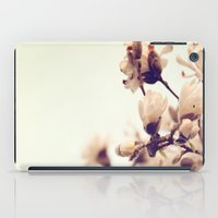 magnolia iPad Cases featuring Magnolia by Dena Brender Photography