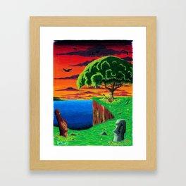 Sunset Serenade Framed Art Print
