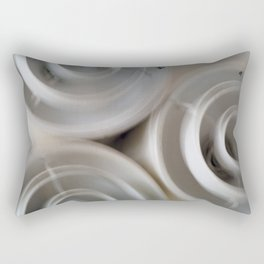 vintage blurry luminaries Rectangular Pillow
