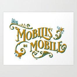 Mobilis In Mobile - Twenty Thousand Leagues Under The Sea Art Print