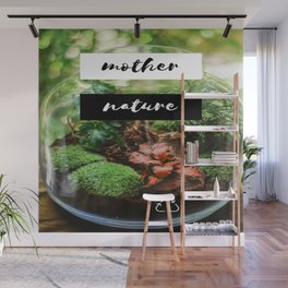 Mother Nature Microenvironment Jar Wall Mural