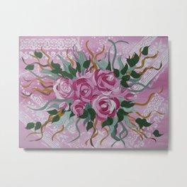 roses print (1 of 3) Metal Print