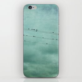 Birds on Wires iPhone Skin