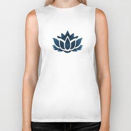 Lotus Flower Biker Tank
