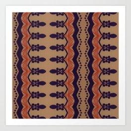 CECIL & NEVIL SERIES 4 Art Print