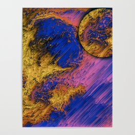Golden sun Poster