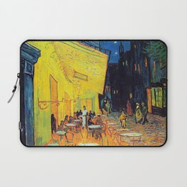 Vincent Van Gogh - Café Terrace at Night (new color editing) Laptop Sleeve
