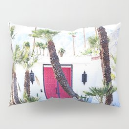 That New Pink Door Palm Springs Pillow Sham